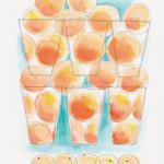 今日のテーマカラー:オレンジ「本音で話せる人との時間」