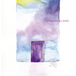 今日のテーマカラー:紫「バランス大事!」