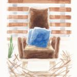 今日のテーマカラー:茶色「腰を落ち着けて取り組む」