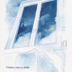 今日のテーマカラー:青紫「静かに深く向き合う」