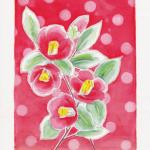 今日のテーマカラー:赤「どんな場所でも私らしく咲こう」