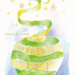 今日のテーマカラー:黄緑「見直す」