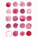 今日のテーマカラー:赤紫「魅力を引き出す」