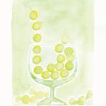 今日のカラーメッセージ:黄緑「七転び八起きで めげずにいこうぜ」