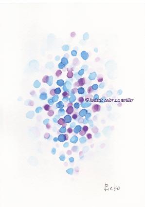 色彩心理,色の意味,カラーセラピー,青紫,パーソナルカラー診断,色を学ぶ,色,大阪,奈良,名古屋,ほぼラブ