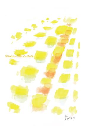 色彩心理,色の意味,黄色,幸せ,ほぼラブ,色を学ぶ,メンタルケア,大阪,奈良,ラブリエ