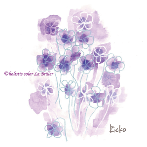 紫,色彩心理,色の意味,カラーセラピー,ほぼラブ,心理学,パーソナルカラー診断,大阪,奈良,名古屋