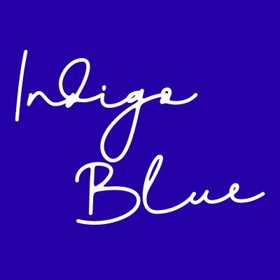 IndigoBlue,インディゴブルー,藍色,青紫,紺色